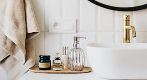 Decluttering Beauty Products Featured
