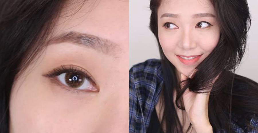 How to easily draw eyeliner for hooded and monolids (2021 beginners' edition)