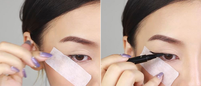how-to-draw-eyeliner-tape