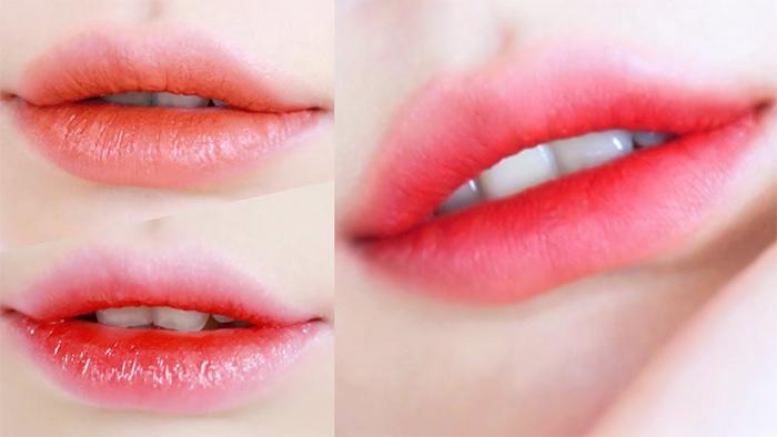 Korean Makeup Trends 2021 Gradient Lips
