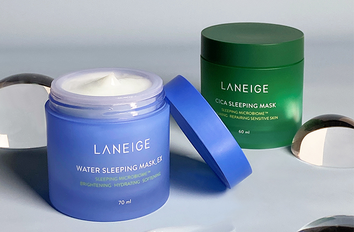 Laneige Water Sleeping Mask Ex And Cica Sleeping Mask Reformulated Review