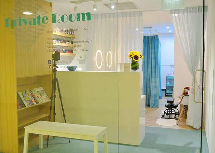 Lash And Brow Salons Private Room