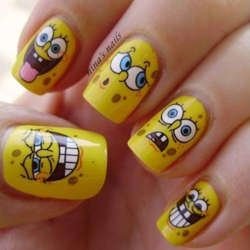 Pantone Colours Of The Year 2021 Manicure Ideas Faces Of Spongebob Source Pinterest