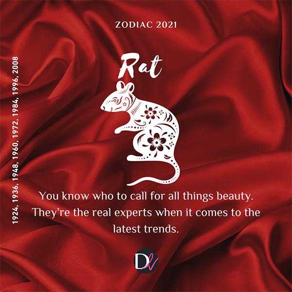 Zodiac Beauty Habits 2021 Rat