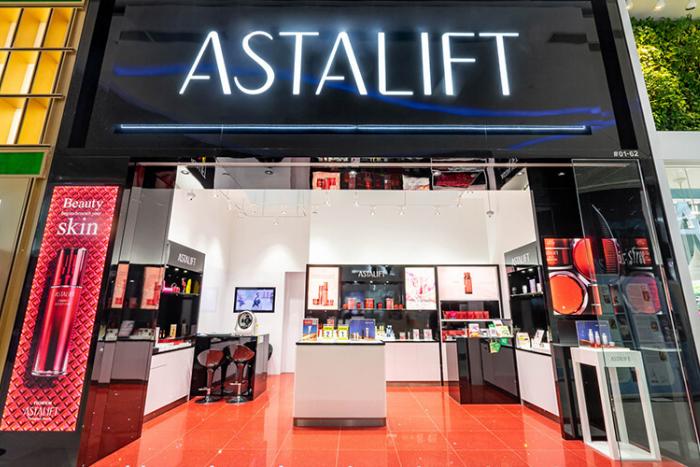 Astalift Plaza Singapura Storefront