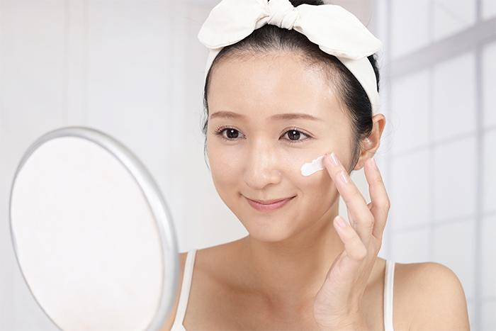Blue Face Zoom Call Prep Skin
