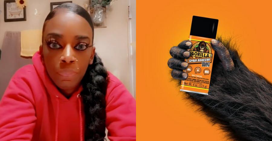 This woman went viral on TikTok for using Gorilla Glue adhesive as hairspray