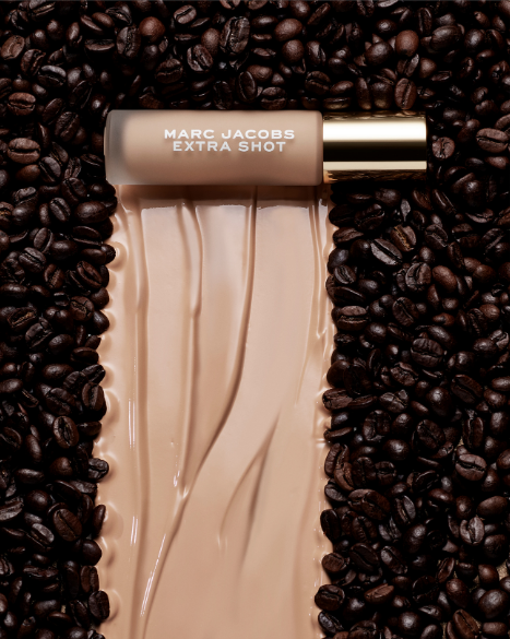 Marc Jacobs Beauty Cafe Marc Jacobs Spring 2021 Collection Extra Shot Concealer Foundation Coffee Beans