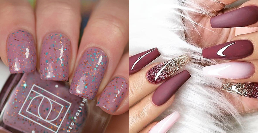 20 mauve nail ideas to bring to your manicurist at your next salon visit