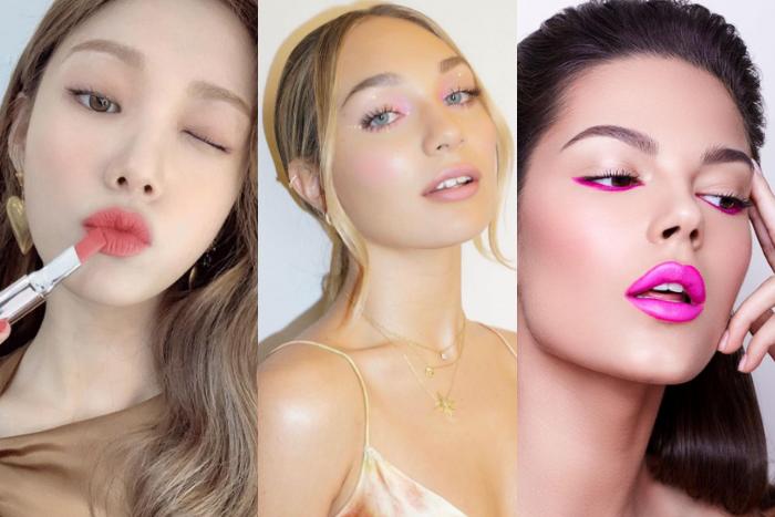 Pink Lips For Valentines Day Lee Sung Kyung Maddie Ziegler
