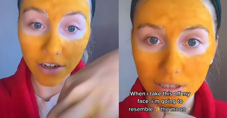 Turmeric Mask Yellow Face Featured