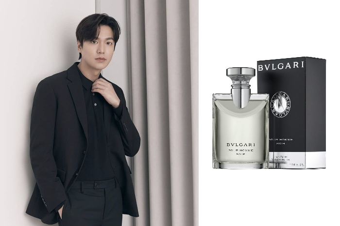 10. Lee Min Ho Bvlgari Pour Homme Soir