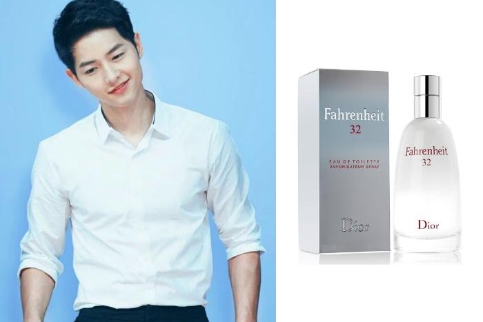 11. Song Joong Ki Dior Fahrenheit 32