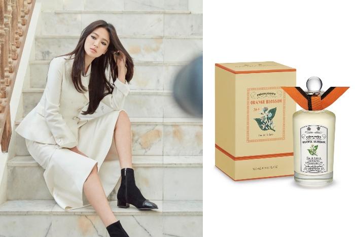 2. Song Hye Kyo Penhaligon Orange Blossom