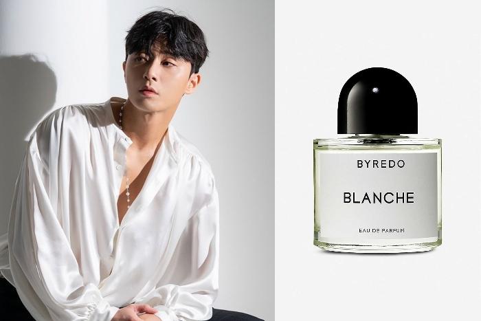 8. Park Seo Joon Byredo Blanche