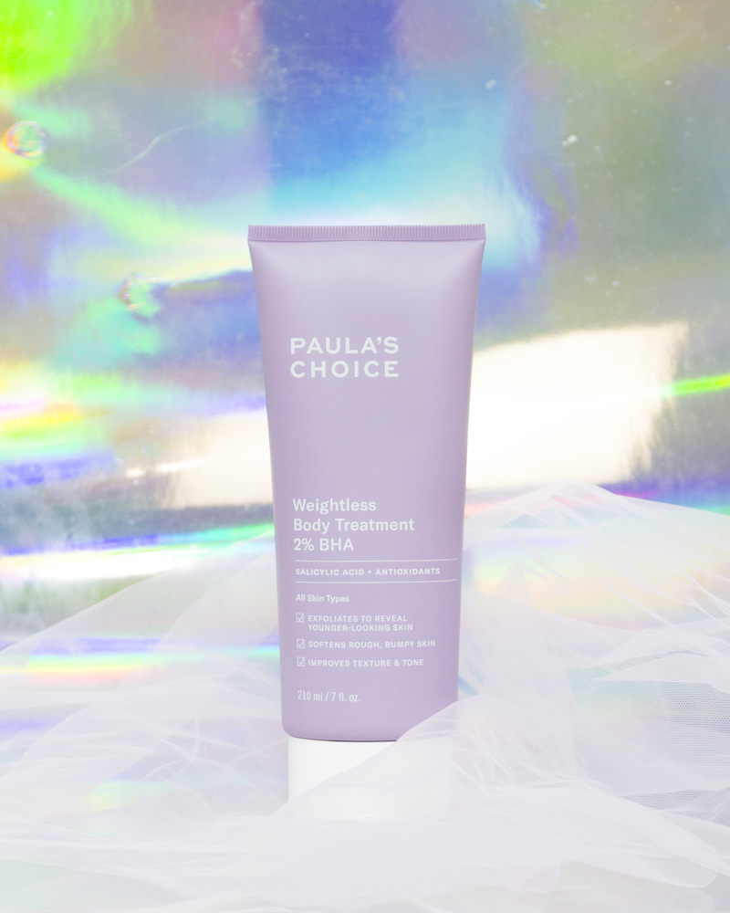 Daily Vanity Beauty Awards 2021 Best Body Exfoliator / Treatment Paula's Choice Weightless Body Treatment 2% BHA Editor's Choice