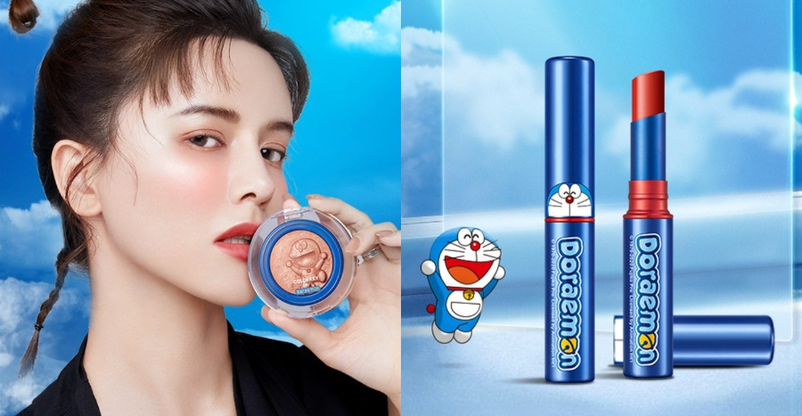 This Doraemon makeup collection is a must-have for any fans. Bonus: It's super affordable!