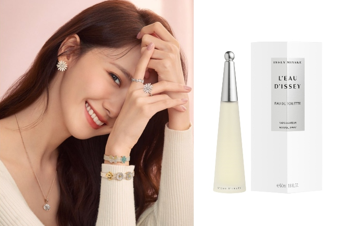 7. Girls' Generation's Yoona Issey Miyake L'eau D'issey