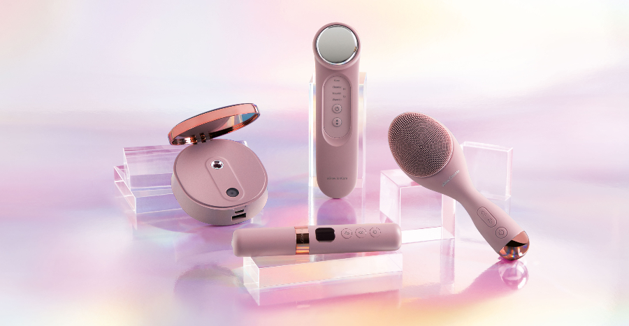 OSIM has launched a series of beauty devices and it's now retailing at S$279 for 4 items