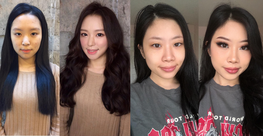 20 stunning before-and-after transformations that remind us why we love makeup