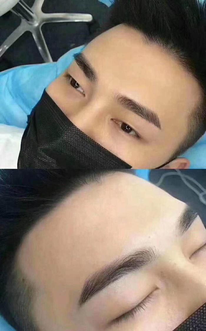 Brow Embroidery Salon Singapore City Beauty Before After 5
