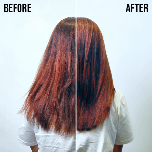 Chez Vous Advanced Sugar Hair Lamination Reviews Melissa Before After With Text