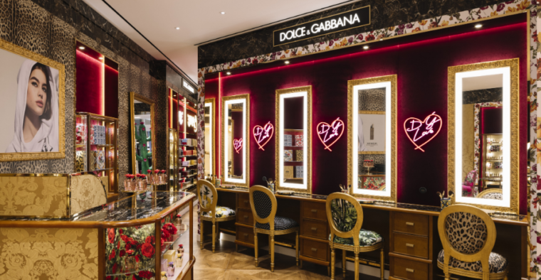 Dolce&Gabbana Beauty will be opening its first-ever flagship store in Singapore