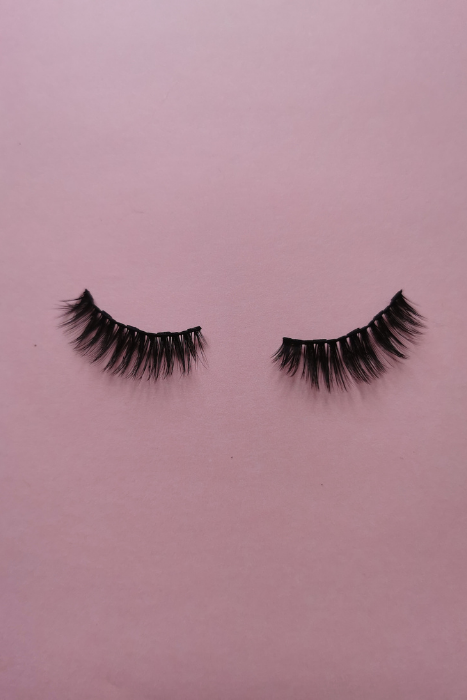 False Eyelashes Falsies With Pink Background Source Nadia Dolce Pexels