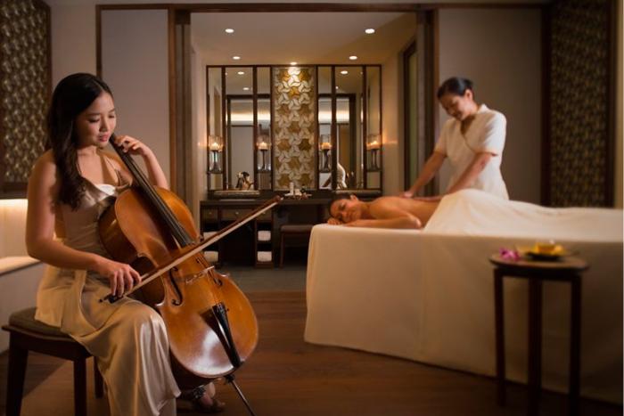 Hotel Massage Singapore The Ritz Carlton Spa
