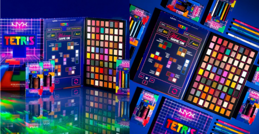 NYX's Tetris-inspired makeup collection is an '80s throwback we never knew we needed