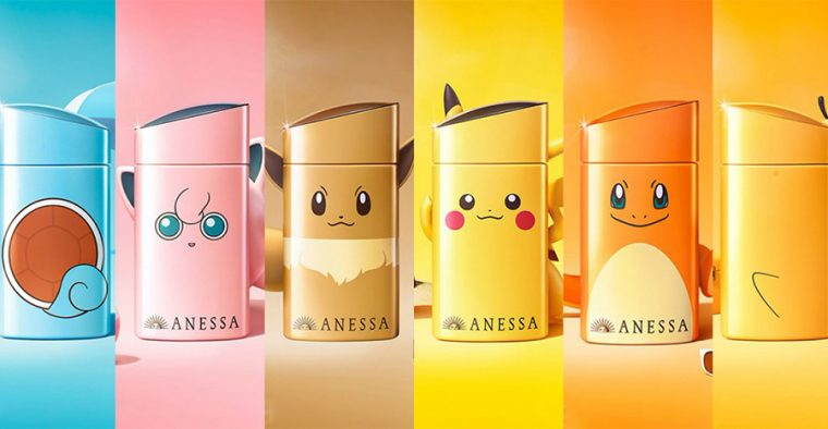 Anessa's collaboration with Pokémon is so cute, it'll bring a smile to your face just looking at it