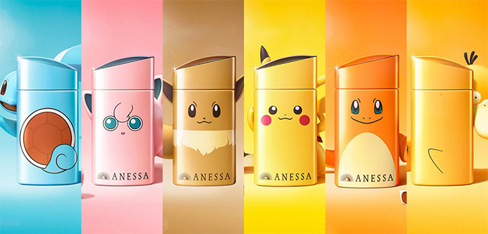 Anessa Pokemon Sunscreens