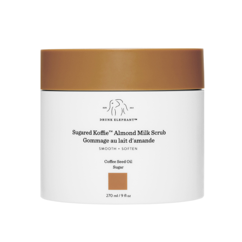 19. Drunk Elephant Sugared Koffie Almond Milk Body Scrub