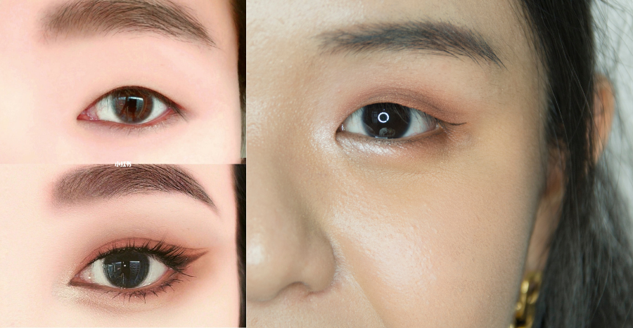 There's a makeup hack to fake a double eyelid – we tried it to see if it works
