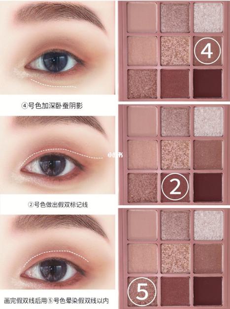 fake double eyelid xiaohongshu makeup hack step 2 bystander