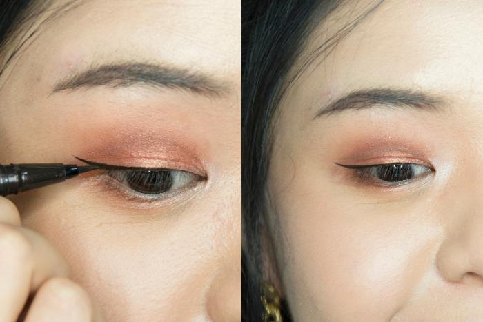fake double eyelid xiaohongshu makeup hack step 3 jiamei