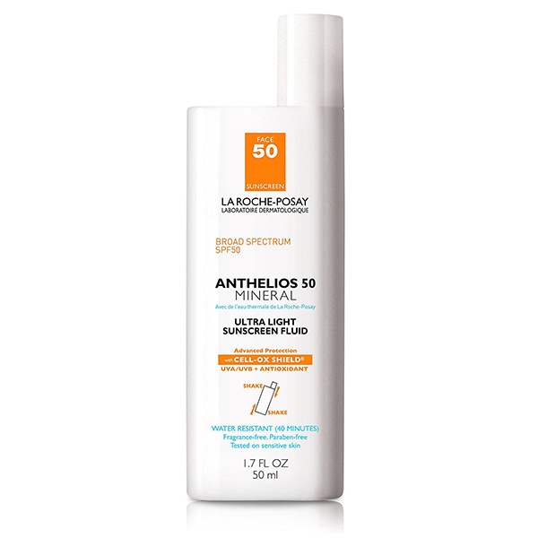 13. La Roche-Posay Anthelios Mineral Ultra-Light Fluid Broad Spectrum SPF 50