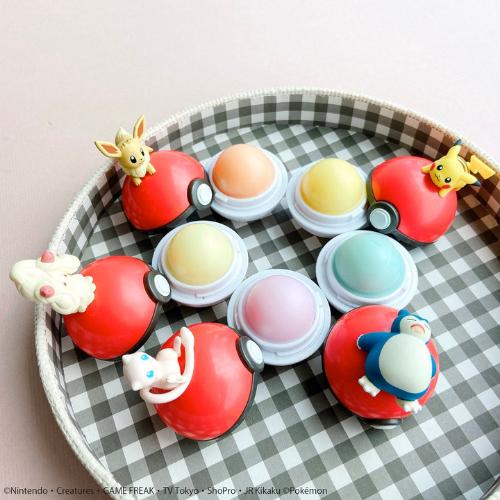 pokemon lip balm collection open