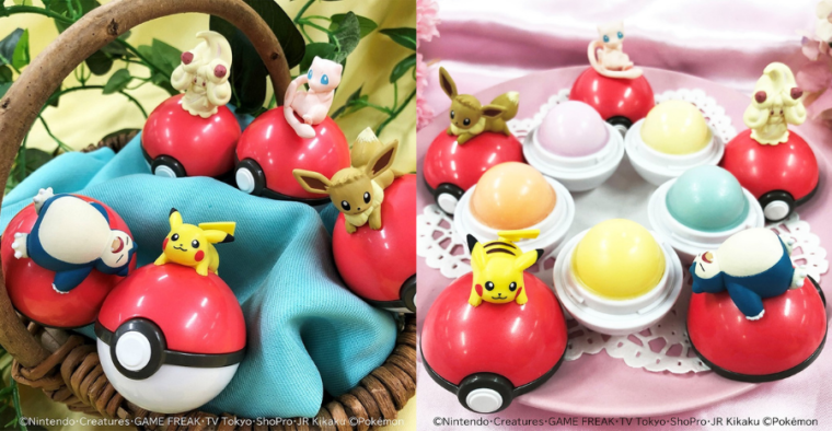 These Pokémon lip balms are so cute you'd want to catch'em all today