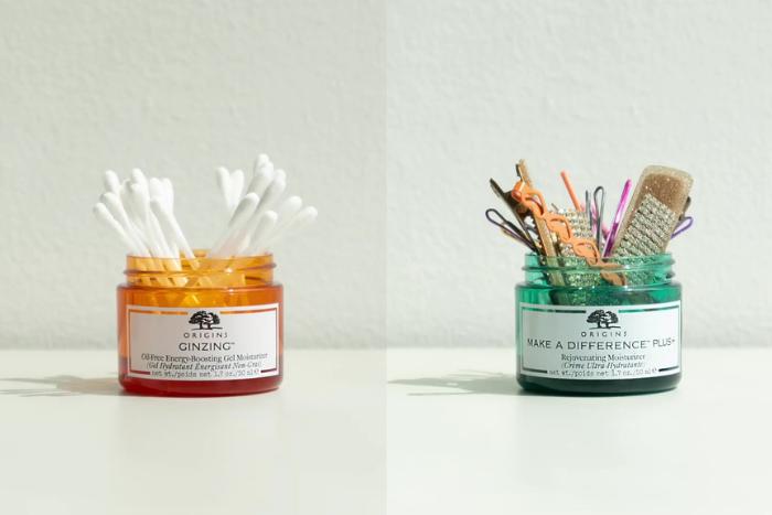 repurposing beauty containers photo source origins.sg instagram
