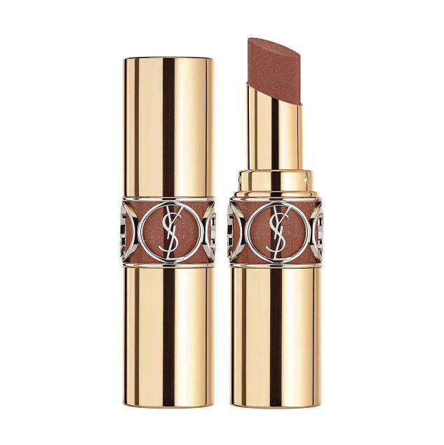 ysl rouge volupte shine 121 beige satin