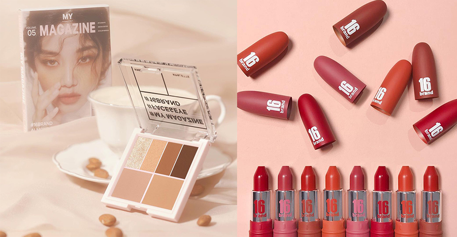 16Brand is one of Korea's hottest makeup brands right now – here are the top 5 products to try