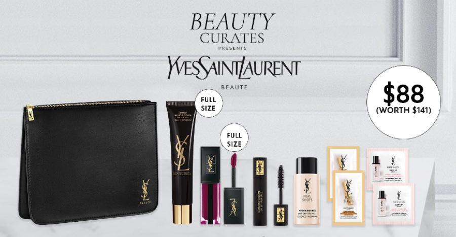 Explore Yves Saint Laurent Beauty's bestsellers at almost 40% OFF with this curated set from BHG!