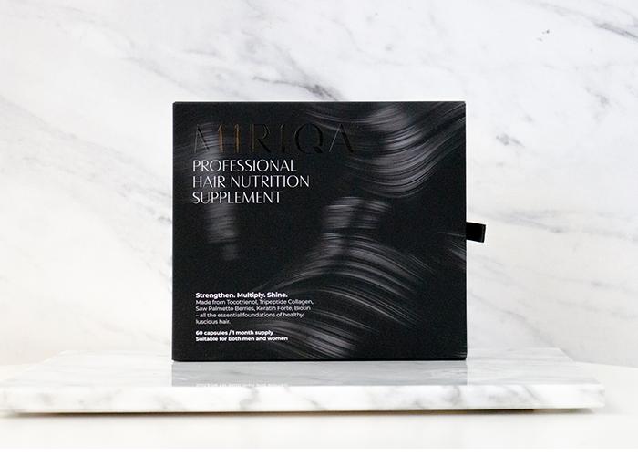 Miriqa Professional Hair Nutrition Supplement review box