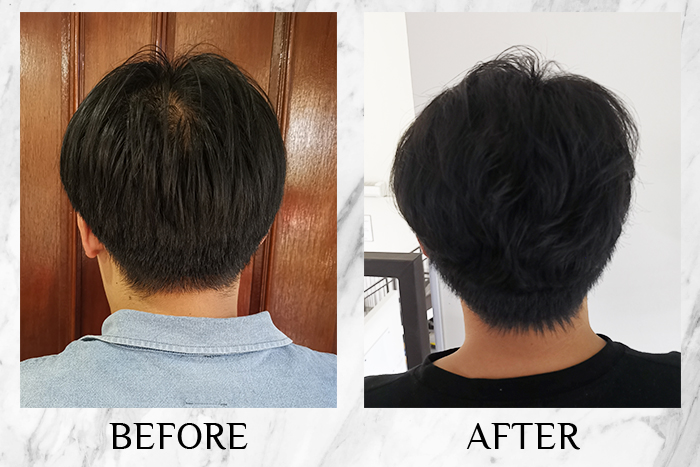 Miriqa Professional Hair Nutrition Supplement review leslie before after general
