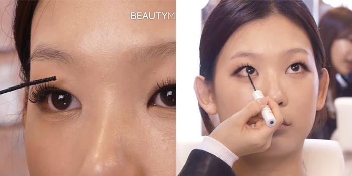 korean-puppy-eyes-makeup-mascara