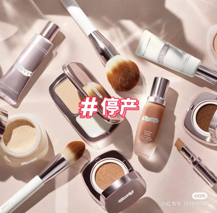 la mer discontinue makeup rumour