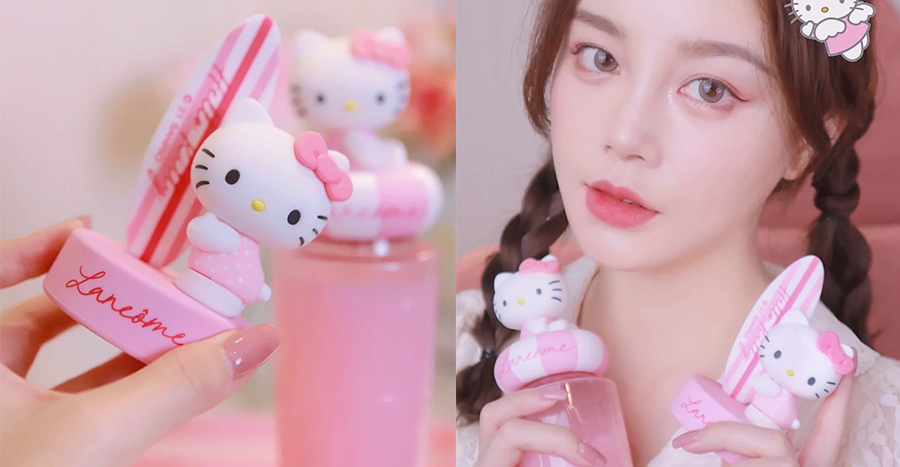 Lancôme partners Hello Kitty in this unlikely collab that is stealing everyone's heart – including ours