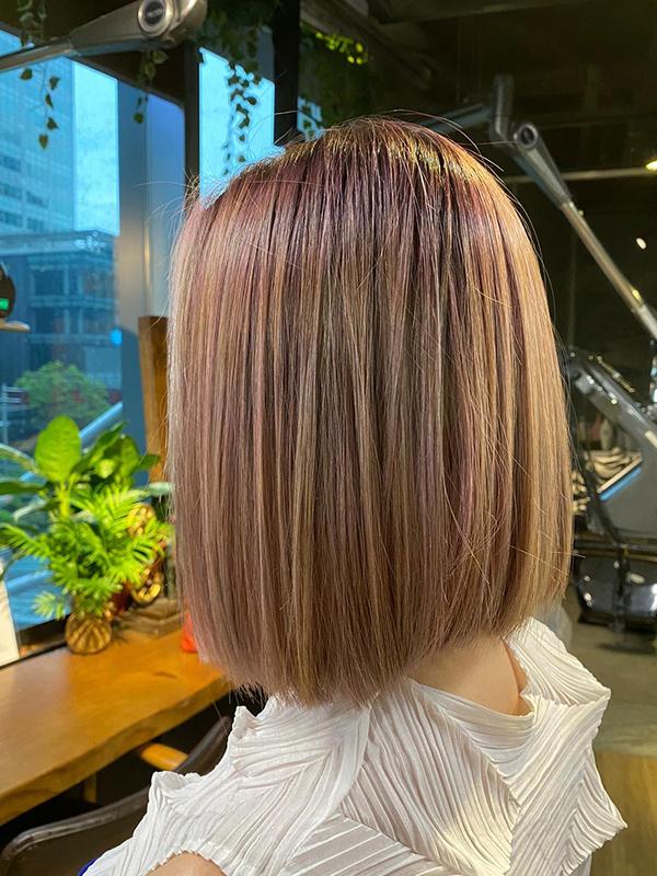 low-maintenance haircuts sleek lob