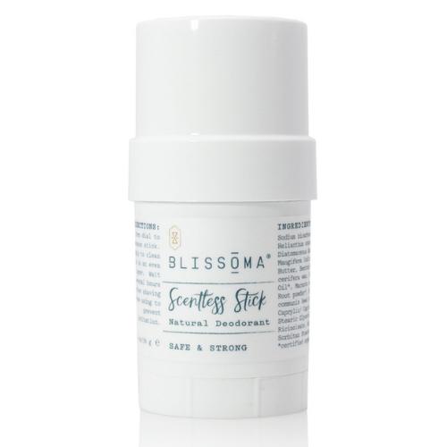 Blissoma Scentless Stick Natural Deodorant